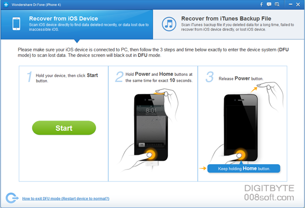 recover lost data from iphone5