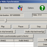 solve audio video are not synchronized
