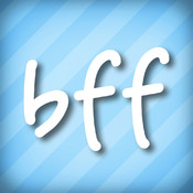 Video Chat BFF - A social network directory & text sms messenger to find, meet, flirt, match & date straight, gay bi, lesbian friends nearby for FaceTime Skype Kik Snapchat - Face dating & voice call any time not a roulette site FREE for iPhone iPod Touch logo
