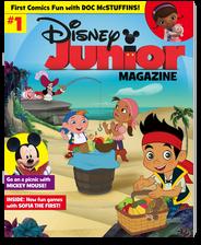 Disney Junior Magazine logo