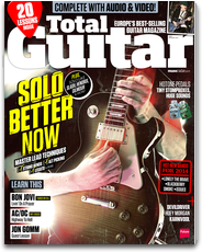 Total Guitar: Europe's best selling guitar magazine with tab and reviews logo