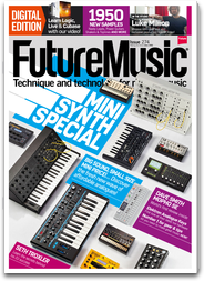 Future Music: Technology and Tutorials for the Modern Music Producer logo
