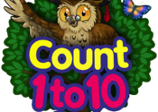 Count 1 to 10 Free - Mrs. Owl's Learning Tree for Mac logo