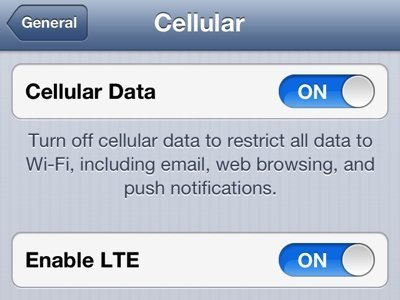 Close ITE to SAVE power in iPhone5