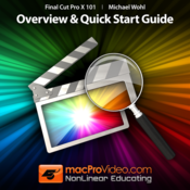 Course For Final Cut Pro X 101 - Overview and Quick Start Guide for Mac logo