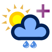 Weather 5 days + for Mac logo