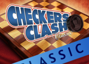 Checkers Clash Classic for Mac logo