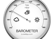 Barometer - Atmospheric pressure for Mac logo