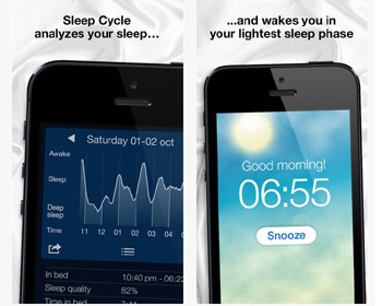 intelligent alarm clock app - Sleep Cycle alarm clock