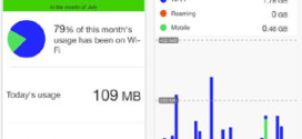 Track your mobile data usage