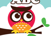 ABC Owl: Spanish for Mac logo