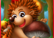 Hedgehog's Adventures: interactive story for kids of 4-6 years of age with educational games for Mac logo
