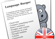 Language Burger Games for Mac logo