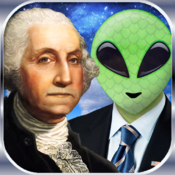Presidents vs. Aliens for Mac logo