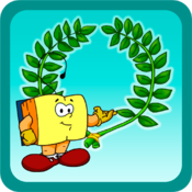Smarty goes to ancient Olympia for Mac logo