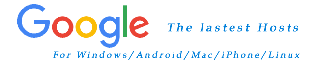 google hosts